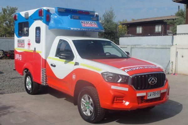 Ambulancias 4x4